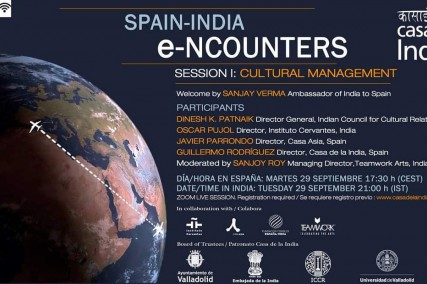 Colaboramos en los nuevos Spain-India Encounters