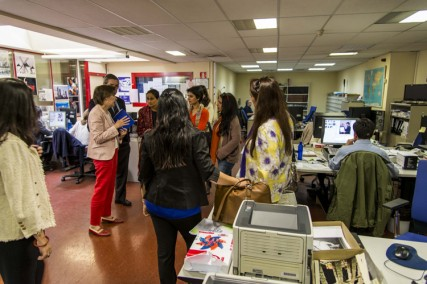 Indian Leaders visit the first global news agency in Spanish