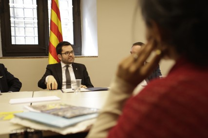 Visit to Generalitat of Catalonia