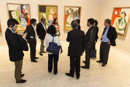 The visit to Museo Picasso marked the end of the agenda in Barcelona