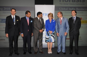 President of Horasis, President of the FICCI, the Indian Trade and Industry Minister, the President of the Community of Madrid, the Spanish Industry Minister and the Director-General of Casa Asia.