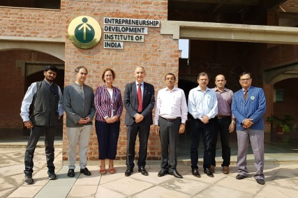 Visita a la India de la Universidad de Valladolid