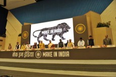 Narendra Modi presenta la campaña 'Make in India'